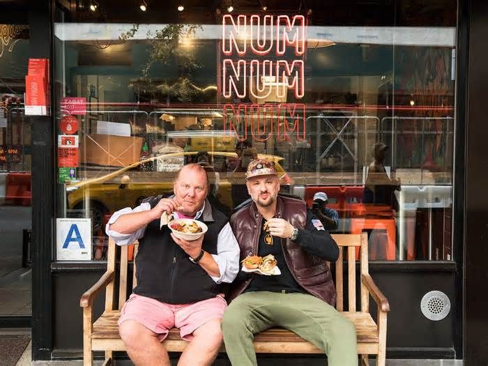 Mario Batali and Num Pang Kitchen Are Helping Puerto Rico in the Most Delicious Way Possible When Hurricane Maria hit Puerto Rico in September, restaurants across the U.S. opened their doors—and kitchens—to raise relief money, while celeb chefs like José Andrés served almost two million meals in satellite kitchens across the island.