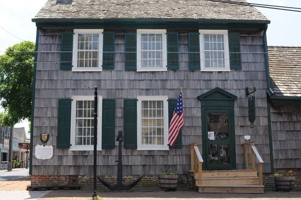 The historic home still bears the scars from a little run-in with the British in 1813.