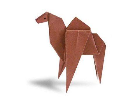 Cách gấp, xếp con lạc đà bằng giấy origami - Video hướng dẫn xếp hình - How to make a Camel - YouTube