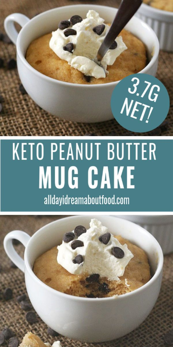 This Keto Peanut Butter Mug Cake Recipe Will Have You Doing The