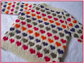 Sweetest sweater for the kids... Free pattern in danish