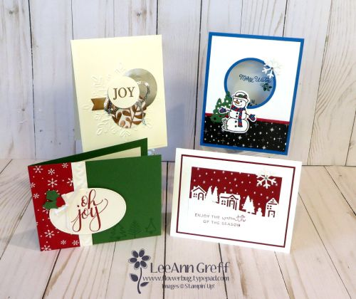 Christmas Stamp a Stack Classes & Tutorials