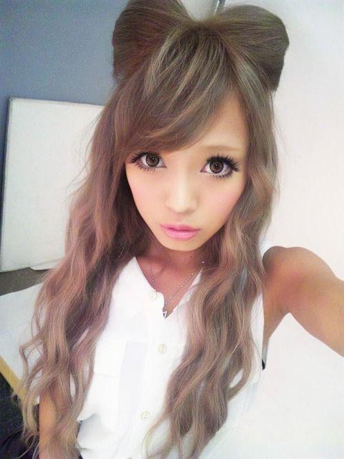 Gyaru bow tie hair x.x
