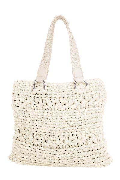 DIY Crochet Kit Zpagetti Bag San Marino Crema | Hoooked