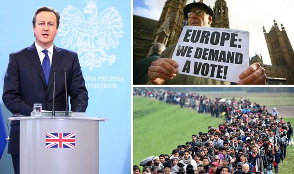 EU referendum David Cameron reforms Britain exit Brexit
