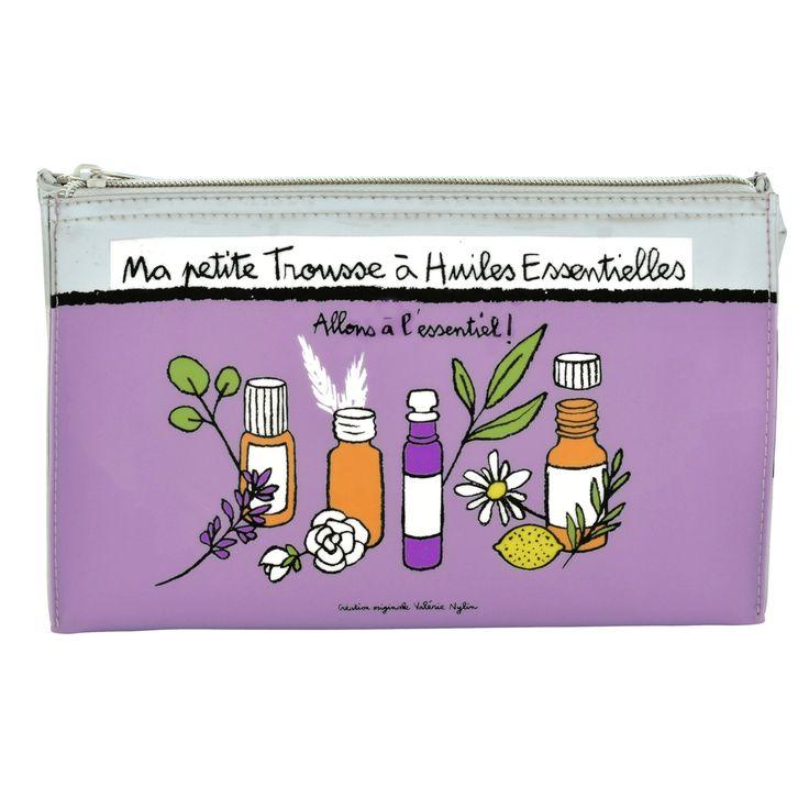 Ma petite trousse à huiles essentielles - Référence : 00058223 #Quebec #Santé #Beauté #Cadeau #Fête #Maison #Vacances #Voyage