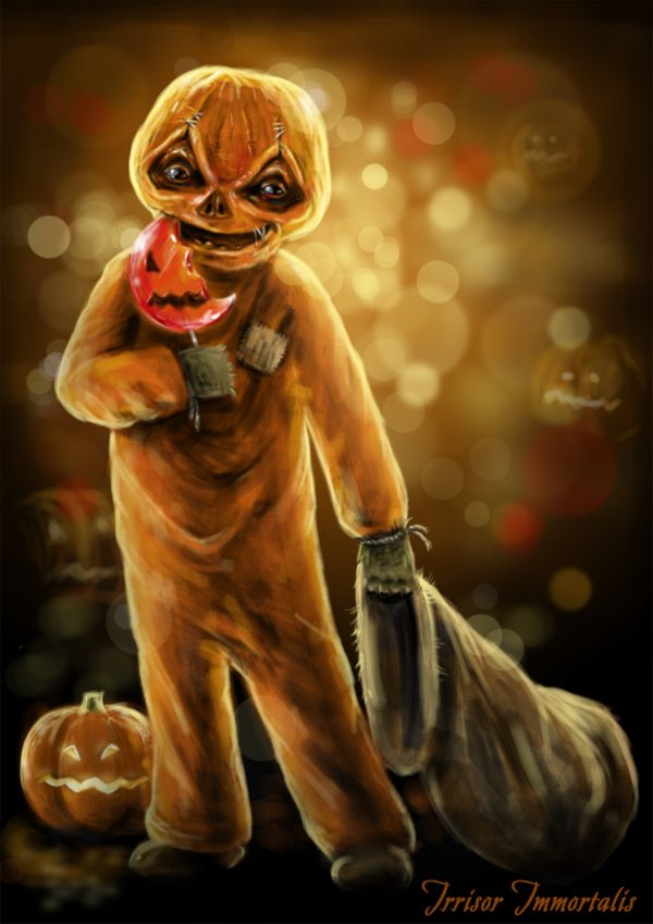 sam from the movie trickrtreat just love this little guy about 2 hours in ps sam trickrtreat - Halloween Scary Movies