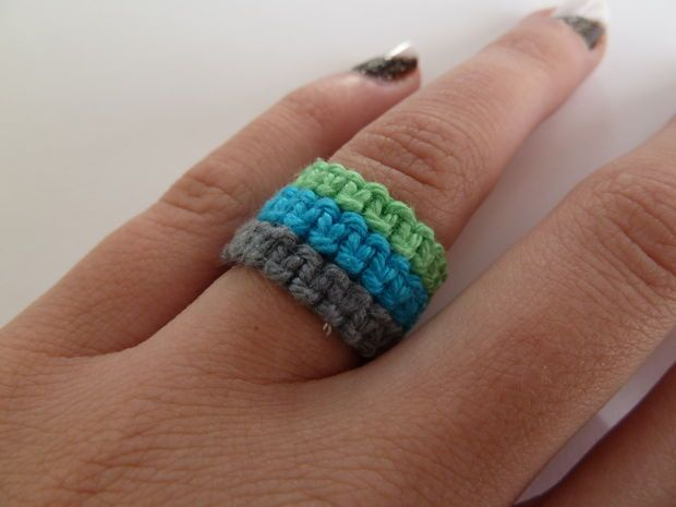Picture of Macrame rings