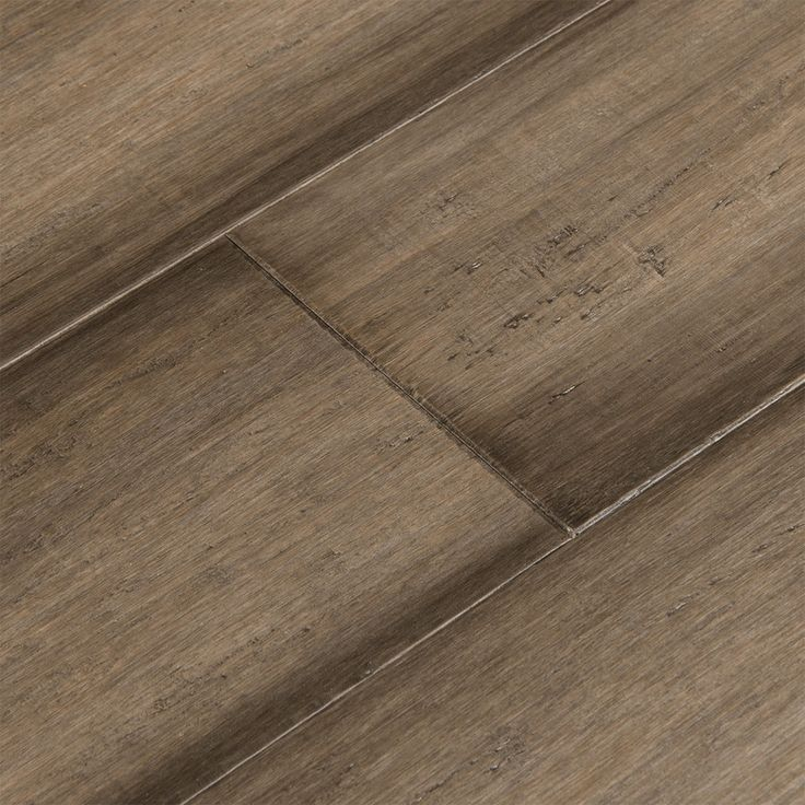 Cali Bamboo Rustic Barnwood Fossilized Wide Tounge Groove: Cali Bamboo Fossilized 5.37-in Prefinished Napa Bamboo