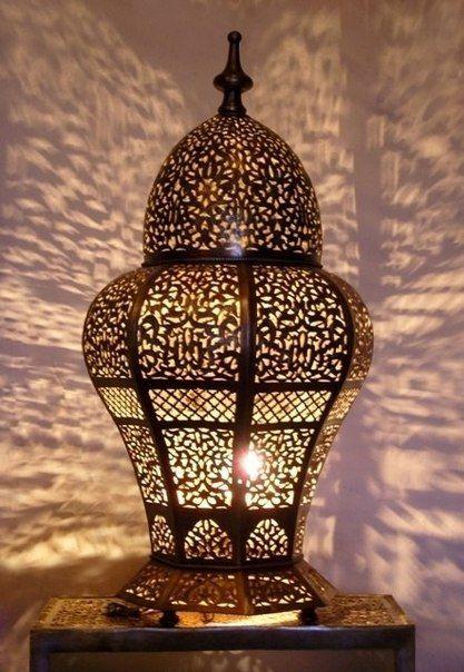 Марокканский светильник, мяу!