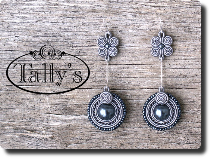 Soutache earings