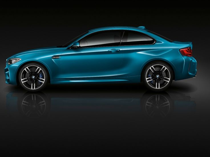 the new bmw m2 has body bulges that make it much more muscular than standard bmw