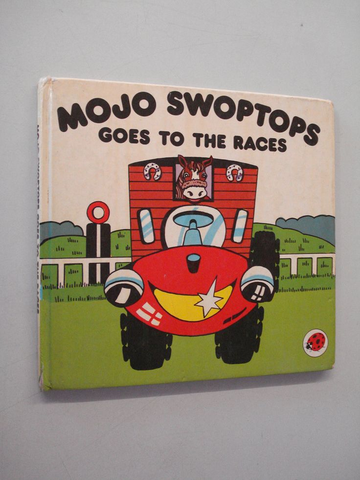 Children's books - Mojo Swoptops Goes To The Races - Bookle