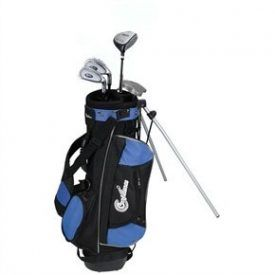 Confidence Junior Golf Club Set w/Stand Bag for kids Ages 4-7 Package includes: Clubs: Driver/fairway wood with extra loft for easy hitting (39″)Oversized Ti-Matrix perimeter-weighted irons with large, forgiving sweet spot – 7 iron (35″), 9 iron (34″), White Ball Putter (33″) and longneck headcoverStand Bag: Deluxe junior stand bag with double shoulder strap, 4 […]
