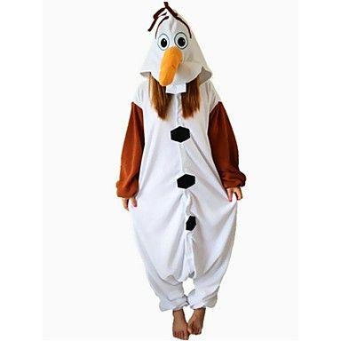 olaf bonhomme Kigurumi polaire de nuit polaire de bande dessinée de pyjama costume de Halloween – CAD $ 33.35