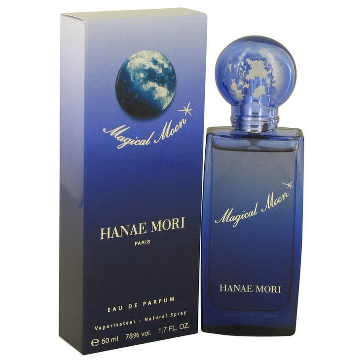 Hanae Mori Magical Moon Perfume EDP EDT 1 1.7 oz & Lotion Shower Gel FOR WOMEN  #HanaeMori