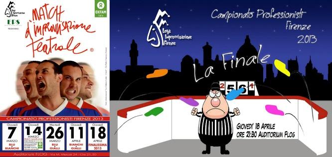 Match d'Improvvisazione Teatrale ®  Finale del Campionato Professionisti 2013