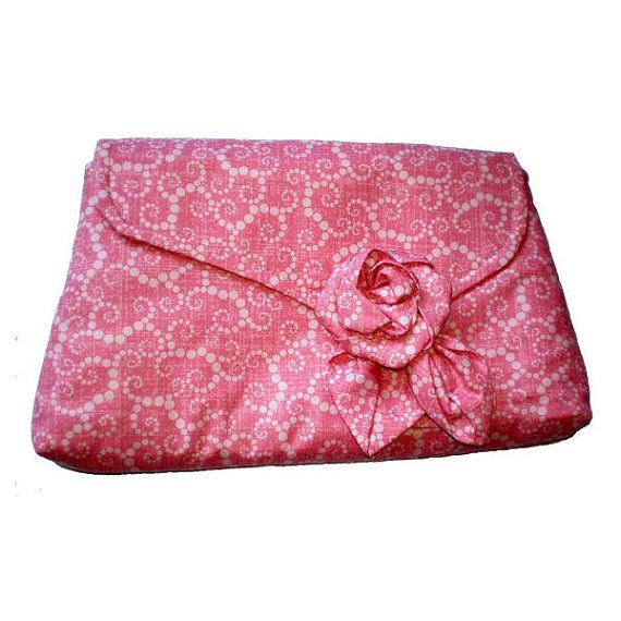1930's Vintage Inspired Clutch Bag Pink and by MissTreeCreations, $40.00
