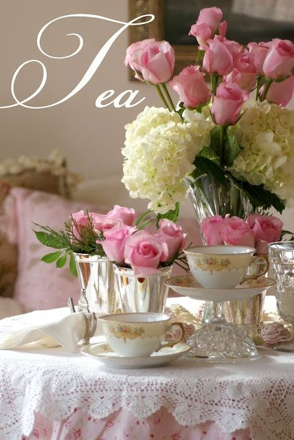 Elegant Tea Time ~ Ana Rosa