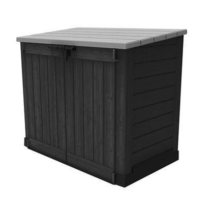 ber ideen zu m lltonnenbox auf pinterest m lltonnenverkleidung m lltonnenbox holz. Black Bedroom Furniture Sets. Home Design Ideas