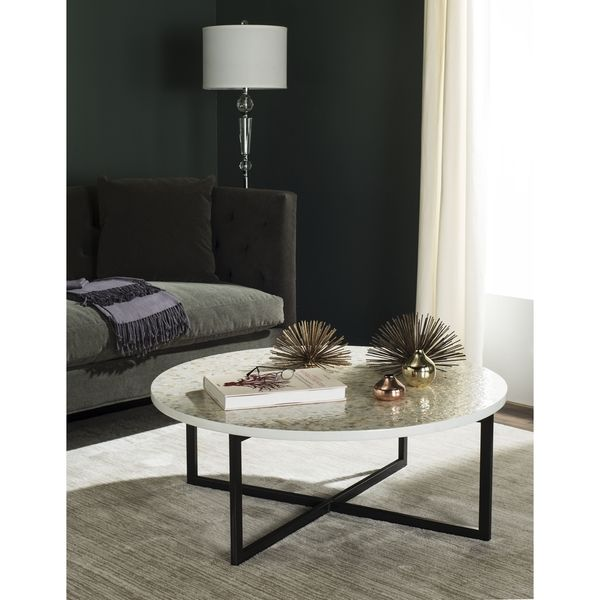 Safavieh Cheyenne Cream Coffee Table - Overstock Shopping - Great Deals on Safavieh Coffee, Sofa & End Tables