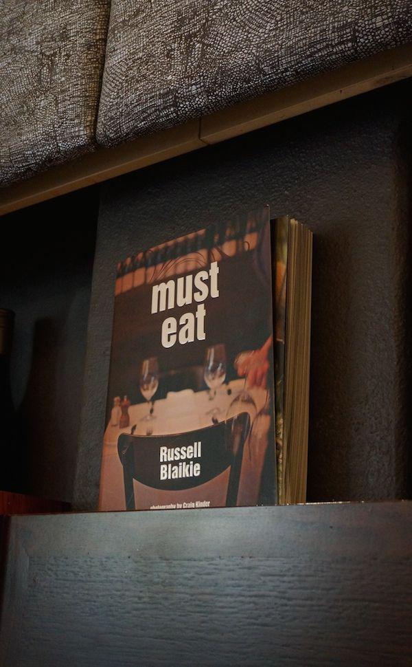 Must Eat Recipe Book by Russell Blaikkie