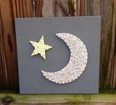 stars moon nursery - Google Search
