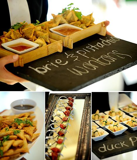 Foood Wedding Appetizers Brie Pistachio Wontons Finger Foods Food Hors Dourves Dipping