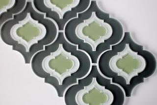 back splash tile (possible bathroom project): Backsplash Tile, Glasses Tile, Design Trends, Back Splash, Kitchens Tile, Moroccan Style, House Interiors Design, Moroccan Tile, Moroccan Patterns
