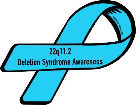 Custom+Ribbon:+22q11.2+/+Deletion+Syndrome+Awareness