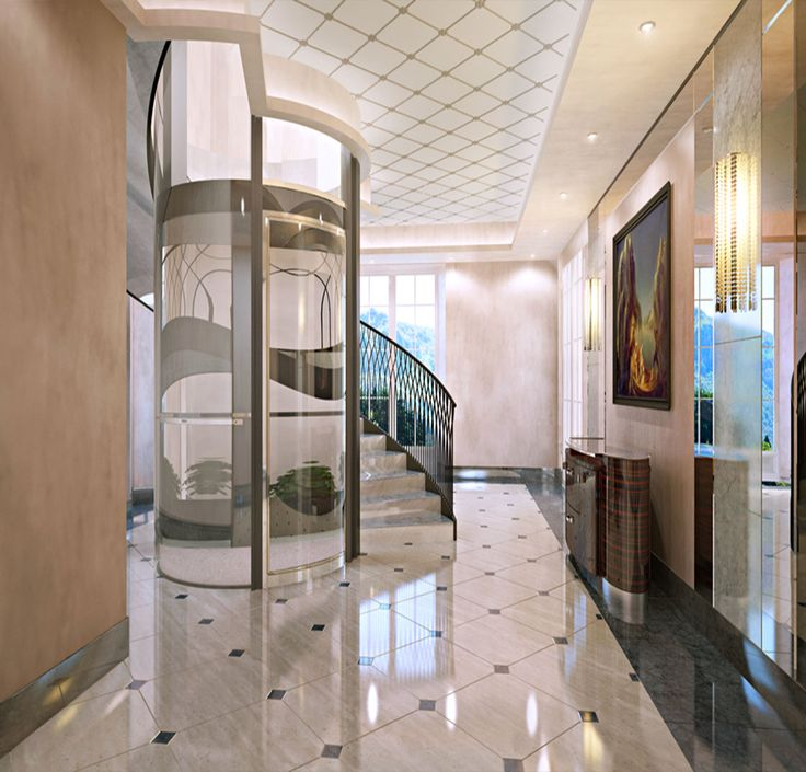 48 best images about elevator residential on pinterest for House plans with elevators