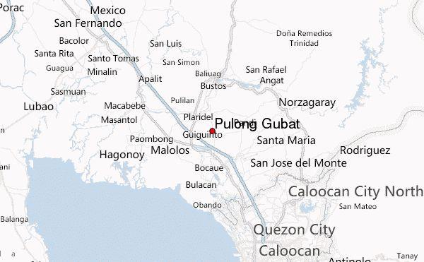images of pulong | Pulong Gubat Mapa de ubicación (Province of Bulacan, Central Luzon ...
