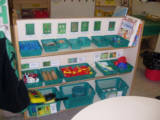 Classroom Ideas Early Years : Fs dough area reception class pinterest awesome