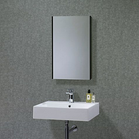 buy roper rhodes limit slimline single bathroom cabinet with double sided mirror online at johnlewis - Bathroom Cabinets John Lewis