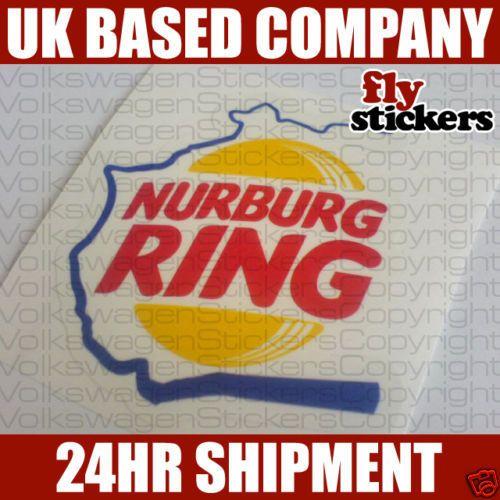 Nurburg-Ring-Sticker-Nurburgring-Decal-VW-GTi-TDi-VR6