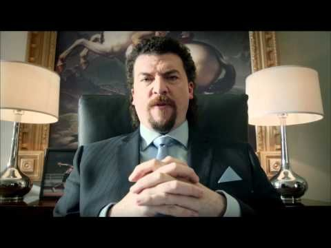 Kenny Powers. M*****f*****g CEO. K-Swiss go balls out to stand out.