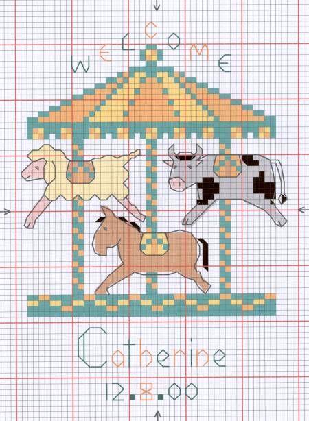 Free Baby Cross Stitch Pattern