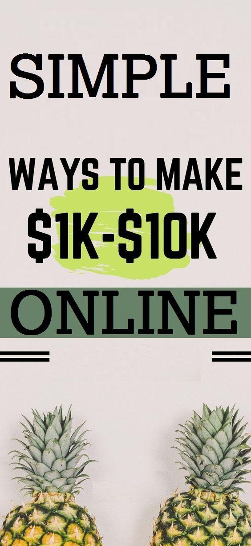 Simple Ways To Make Money Online – Make Money Online
