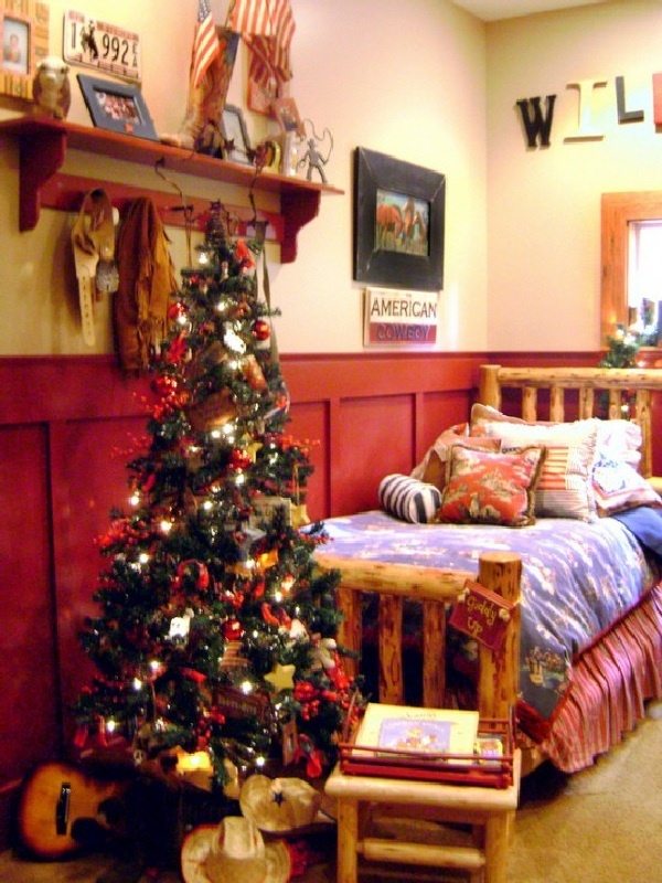 Christmas Bedroom Ideas 123 best christmas decorating ideas images on pinterest | holiday