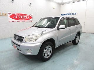 Japanese vehicles to the world: 2004 Toyota RAV4 L for Tanzania to Dar es Salaam