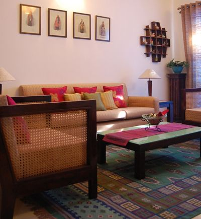 867 best indian ethnic home decor images on pinterest for Interior of indian living room