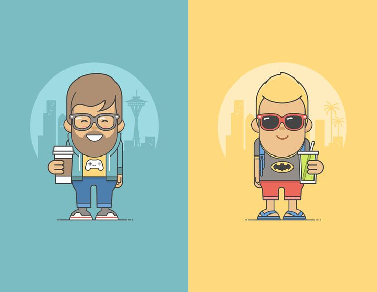 Character Design Illustration : Best illustration flat design images on pinterest