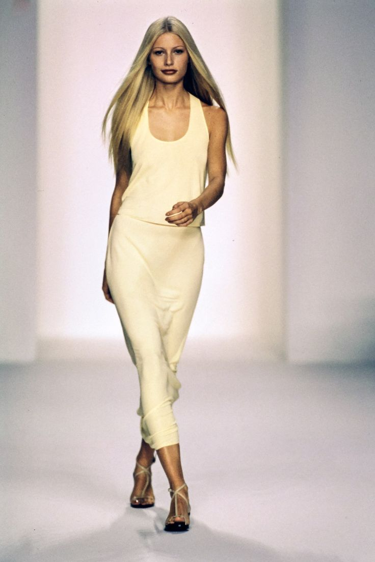 See the complete Calvin Klein Spring 1996 collection and 9 more Calvin Klein shows from the '90s.