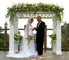 wedding arch decorations pictures ideas | ... your wedding arch or arbor during end of the wedding season sales