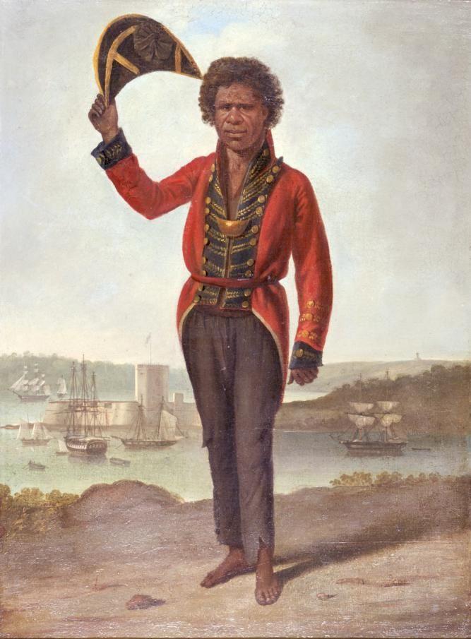 Bungaree portraits.  Bungaree sailed with Matthew Flinders, 22 July 1802 on 'Investigator'