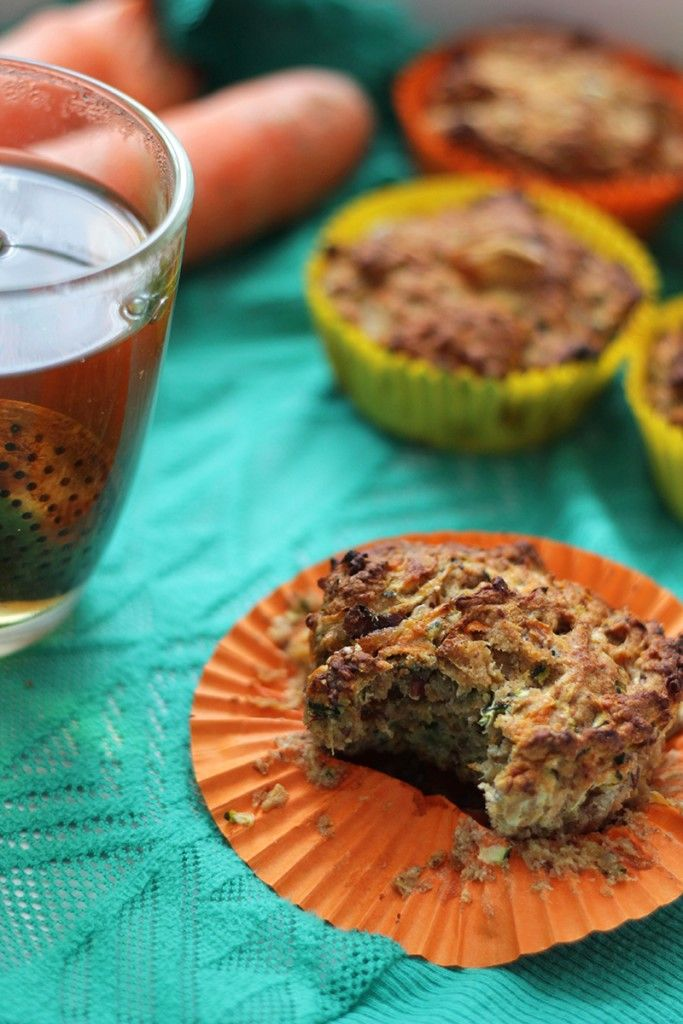 Courgette Wortel Muffins   De Bakparade