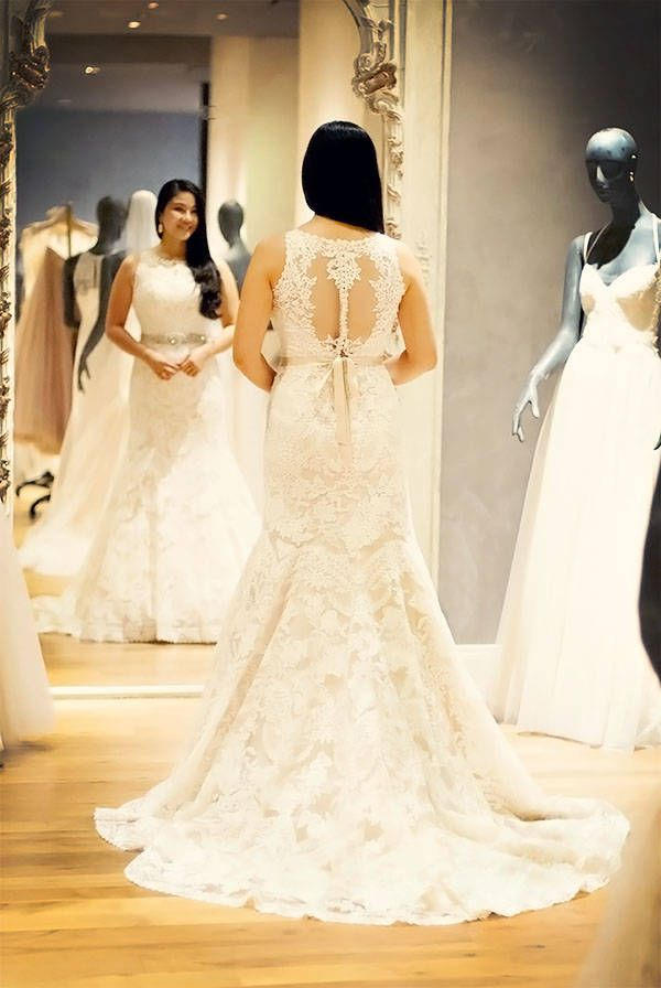 Stunning Bridal Dress Shopping Experience at BHLDN Houston