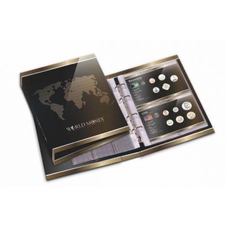 Ντοσιέ Αποθήκευσης Σετ Νομισμάτων σε Blister! Eξαιρετικά ανθετικό και ειδικά σχεδιασμένο για την Βιβλιοθήκη σας ντοσιέ για να ταξινομήσετε και να αποθηκεύσετε τα Blister σας με τα νομίσματα από τις χώρες όλου του κόσμου!!   Το ντοσιέ περιλαμβάνει 10 διπλές διαφανείς ανθεκτικές σελίδες, όπου η κάθε σελίδα περιλαμβάνει δυο θήκες για δυο blister.   Ετσι μπορείτε να χωρίσετε την συλλογή σας ανά Ηπειρο