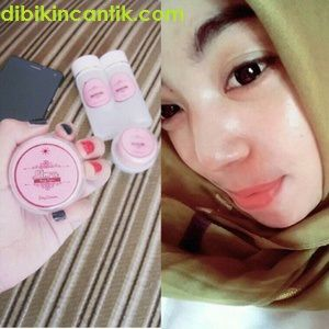 cream pemutih kulit wajah elora skincare beauty organic