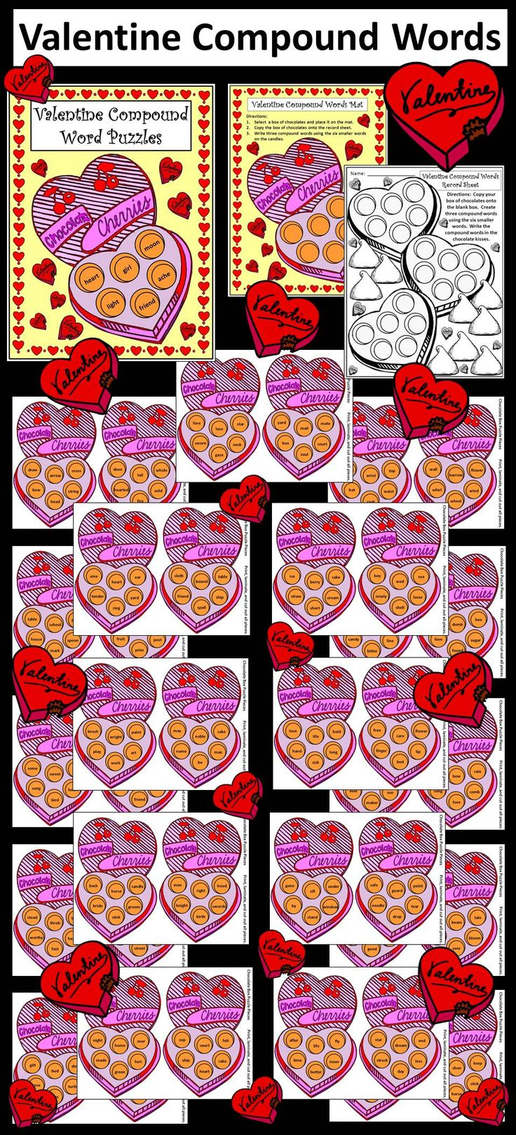 56 best valentines products images on pinterest learning resources teaching resources and. Black Bedroom Furniture Sets. Home Design Ideas